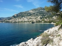 The Tour of Cap Martin between Menton and Monaco